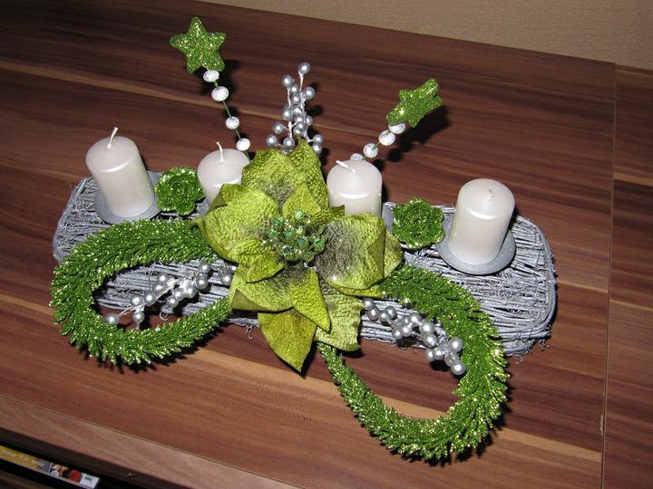 Vianoce 2010 - dekorácia na vianočný stôl