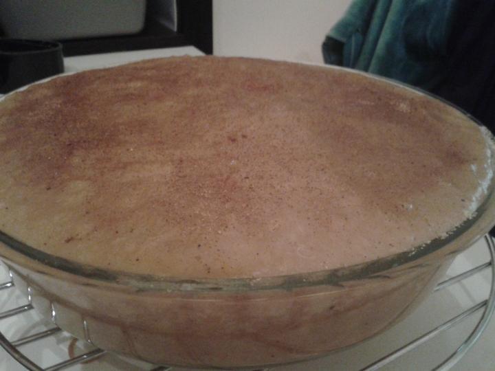 V kuchyni? - podzimní dortík.... nejlepší se zakysanou smetanou..