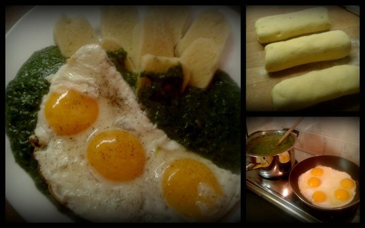 V kuchyni? - Dnešní večeře.... Co se zbytkem bramborových knedlíků?