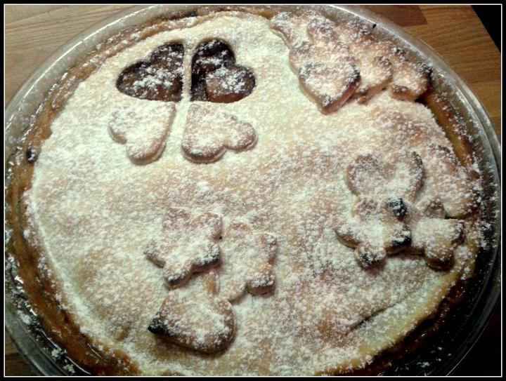 V kuchyni? - Americký apple pie... tedy pokus o něj.. :-)