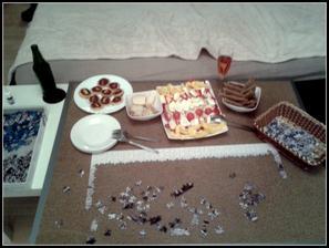 novoroční večeře.. :-)
