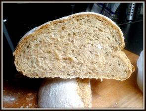 domácí chleba...