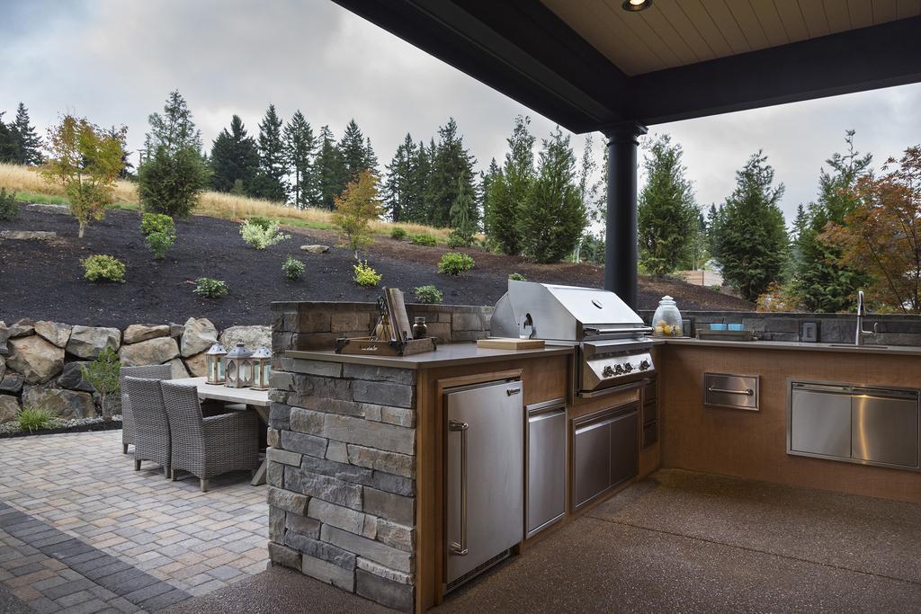 Americký sen... - outdoor kitchen