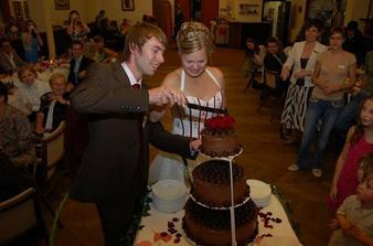 Torta bola skutočne krásna a výborná.