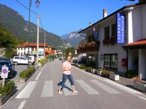 Náš Hotel v Campolongo sul Brenta, túto fotku zvlásť ocení mamina...