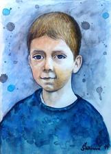 Čarovné detstvo - akvarel