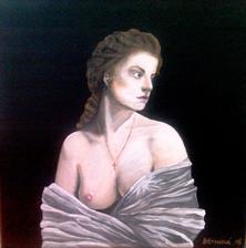 Svitanie - akryl na plátne