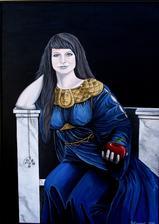 Eva - akryl na plátne
