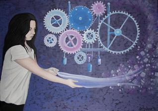 Zabudnutá myšlienka - akryl na plátne