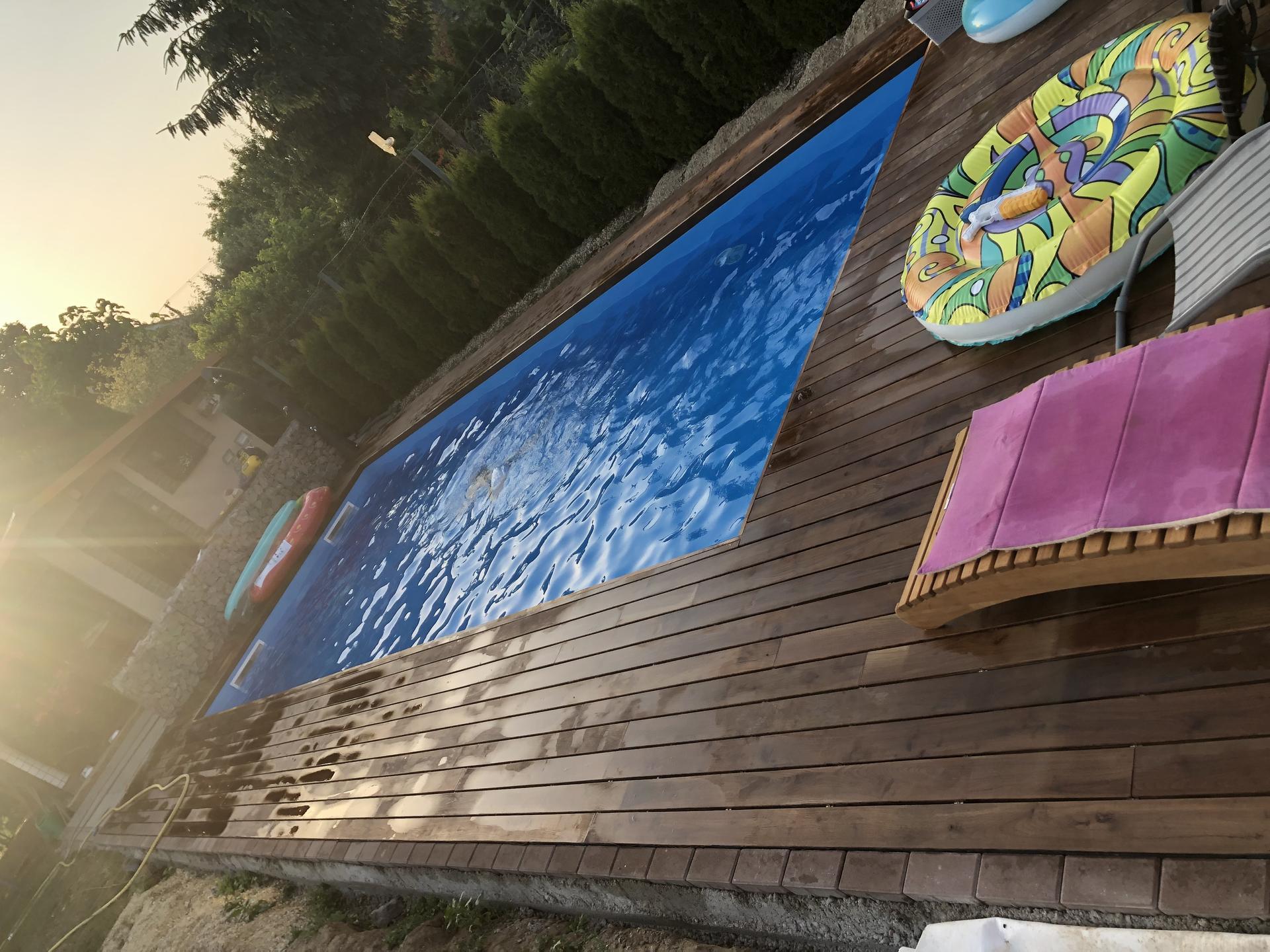 murovany bazen 9x4 svojpomocne - Obrázok č. 7