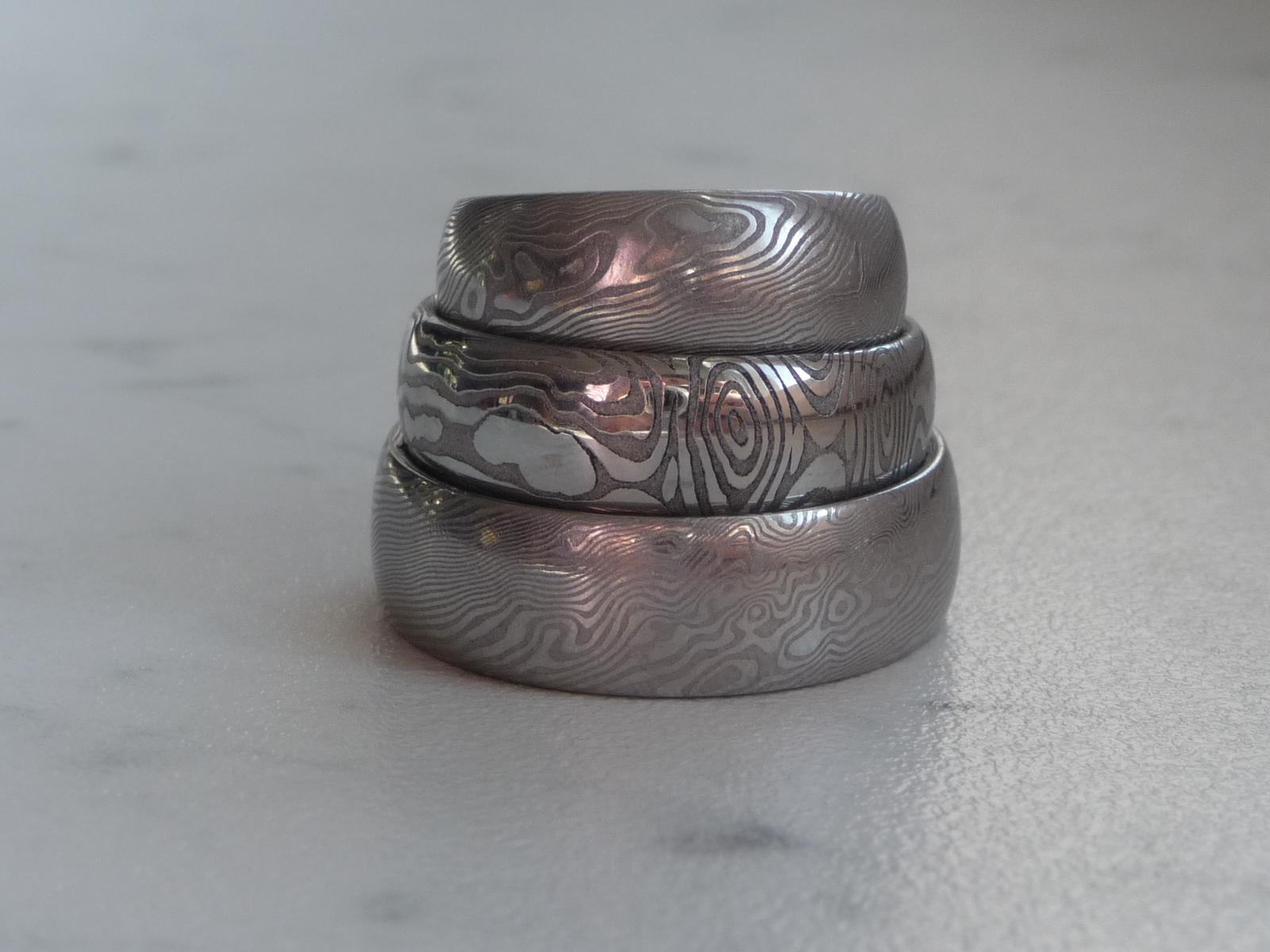 Mate Zkusenost Se Snubnimi Prsteny Z Damaskove Oce
