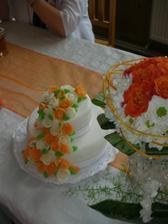 dorty z cukrárny u Bena v Teplicích