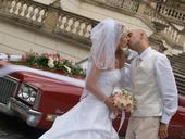 Svatební vesta + francouzký uzel, 50