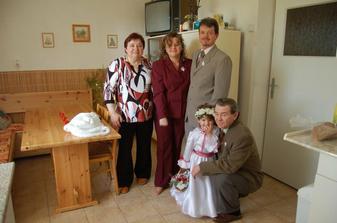 Bernáškovic rodinka...:-)