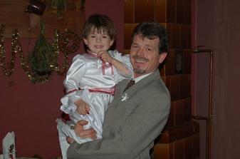 Moje úžasná družička s tatínkem...