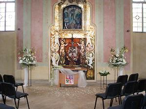 kaple Nejsvětější trojice kde si řekneme ano :-D