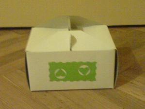"""krabičky na výslužku - vlastní """"dozdobení"""""""