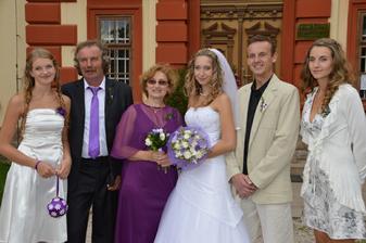 moji rodiče a sourozenci