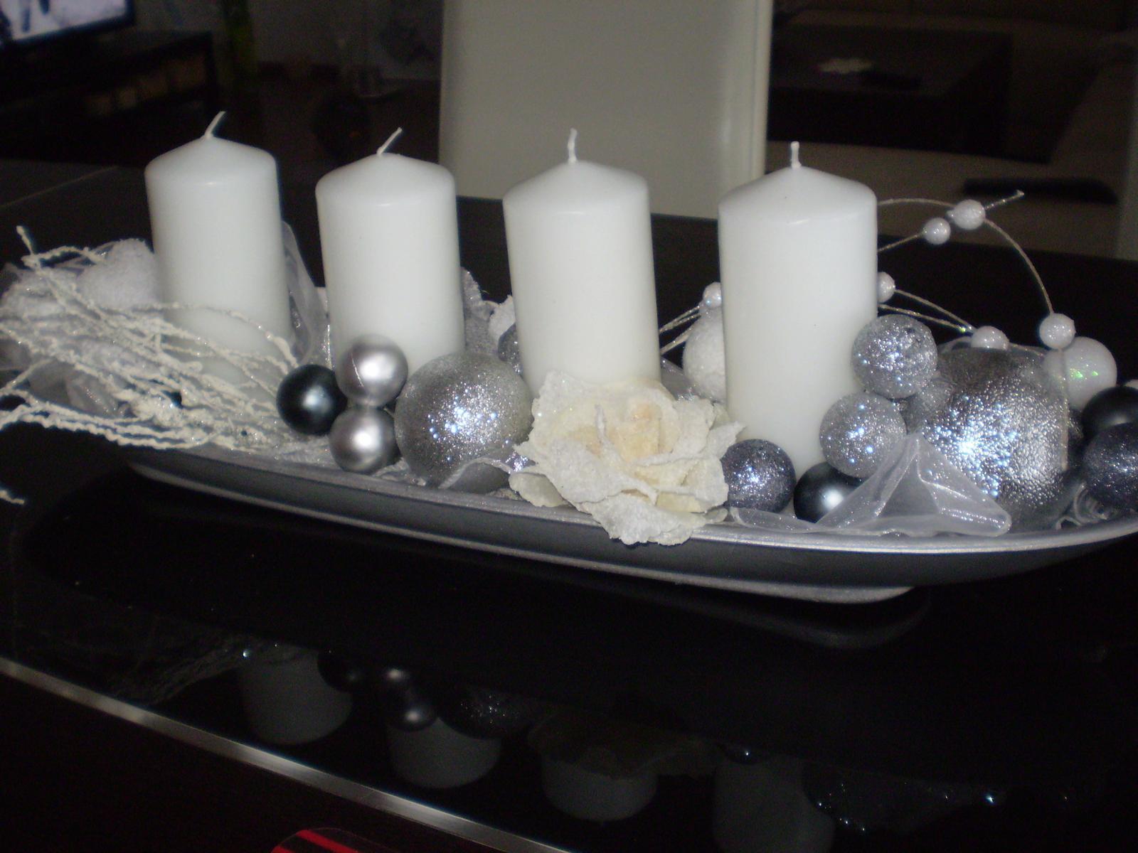 Pokusy o aranžmá... - náš vianočný
