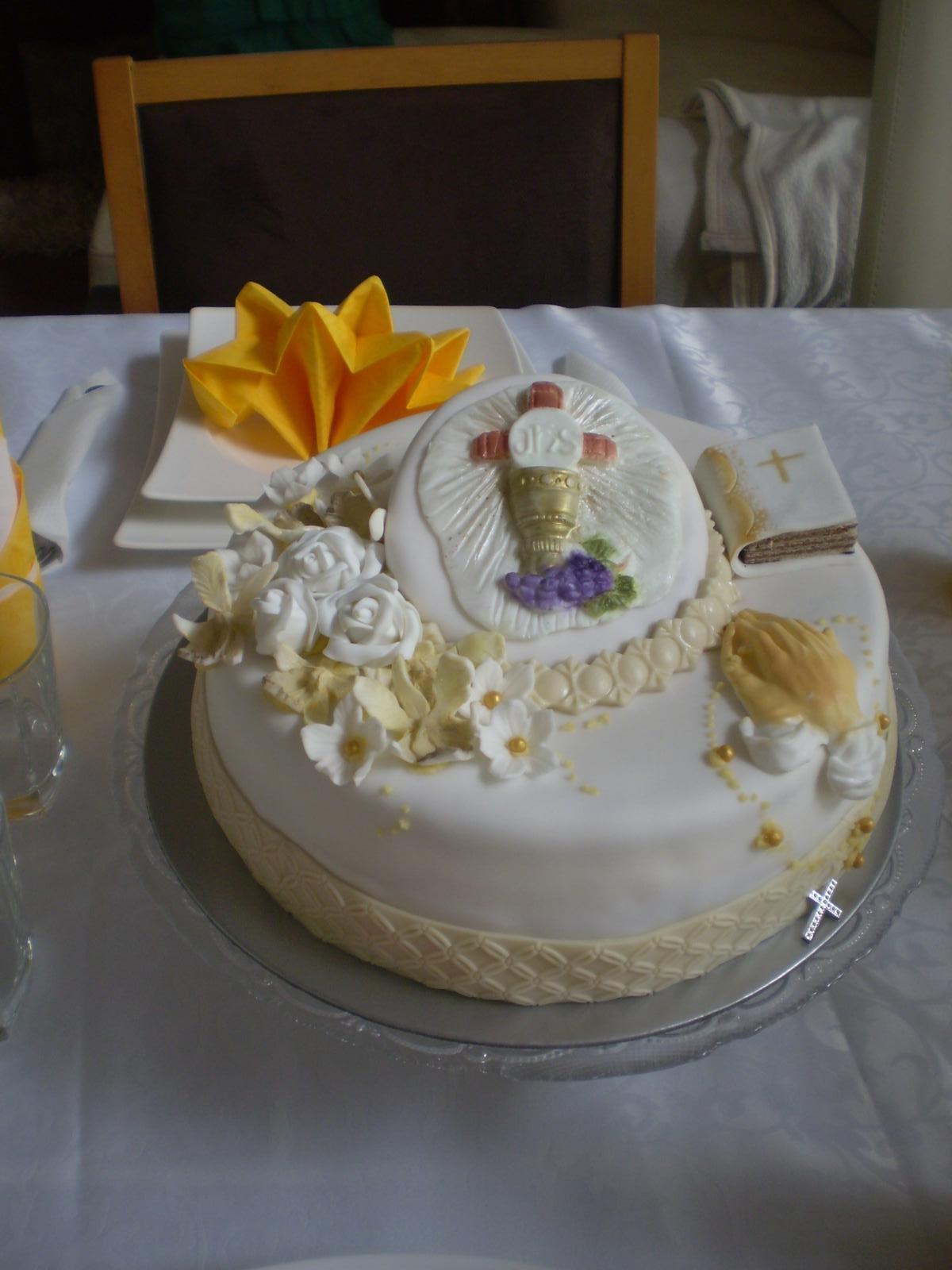 Pokusy o aranžmá... - tortička pre dceru
