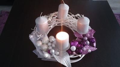 doplnené sviečky