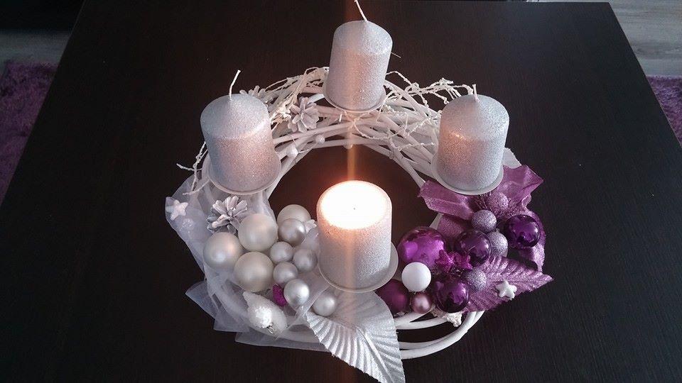 Pokusy o aranžmá... - doplnené sviečky