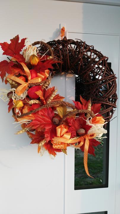 Jesenný vencek