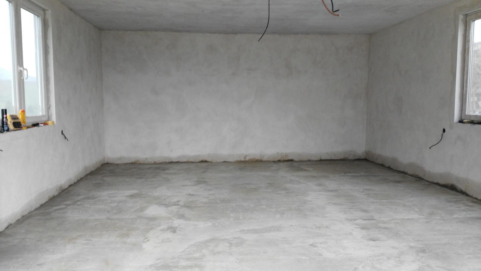 Domček na kopčeku - garáž