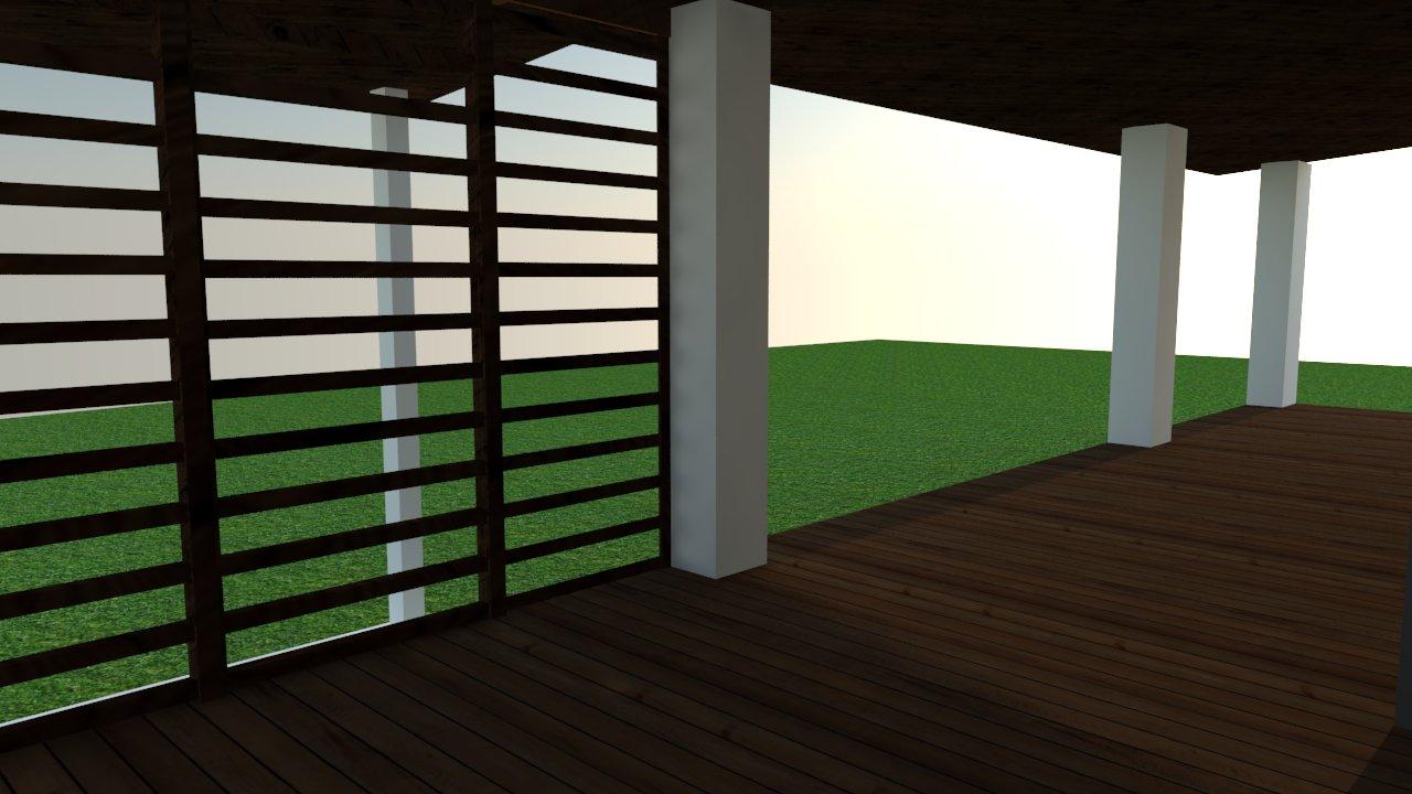Domček na kopčeku - terasa