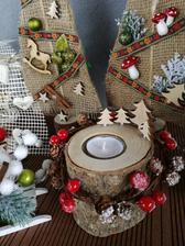 Tvorenie pre syna do škôlky na vianočné dedinské trhy v štýle čo poval dal