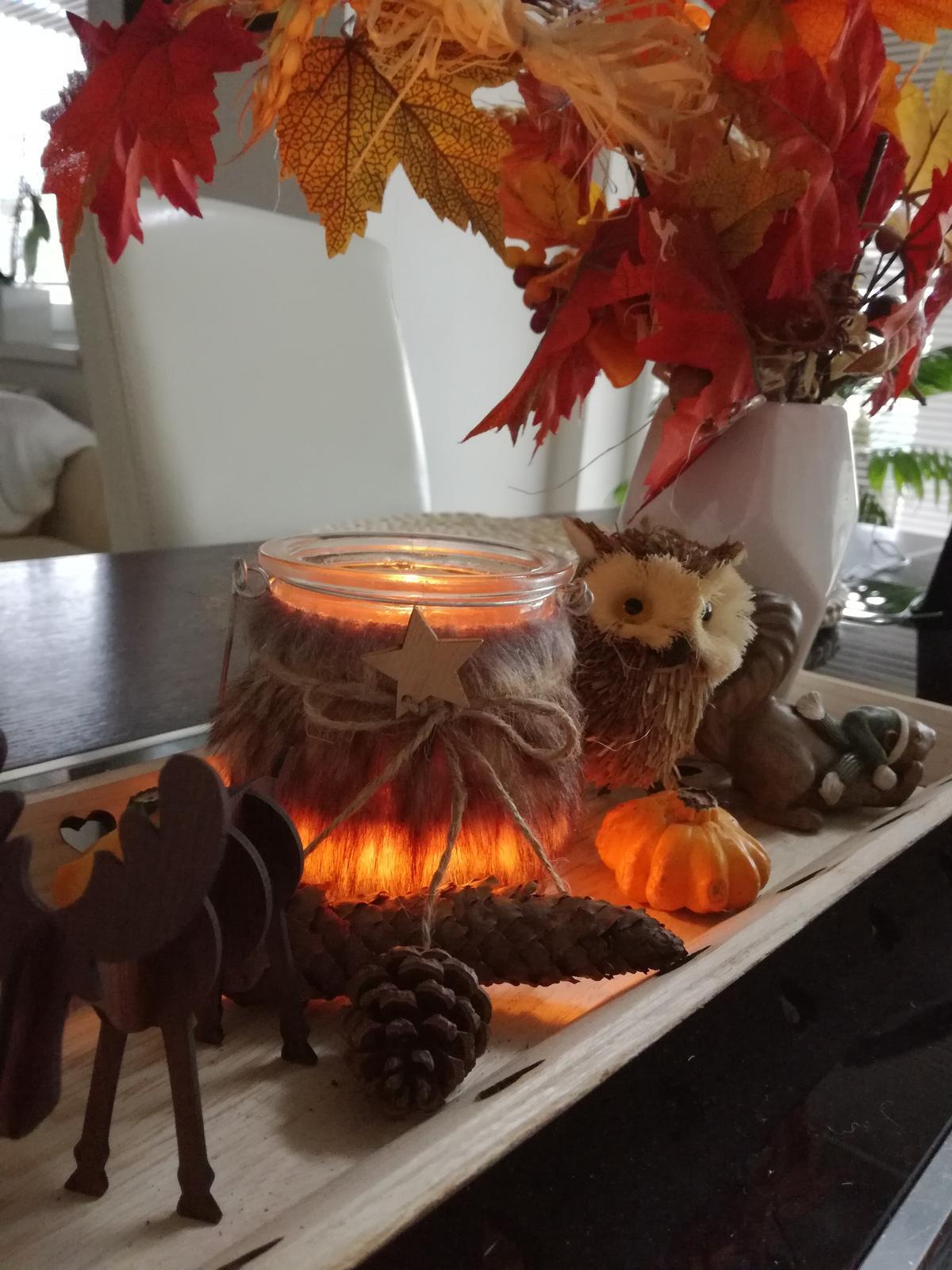 Domov sladký domov..... - Jesenný podvečer