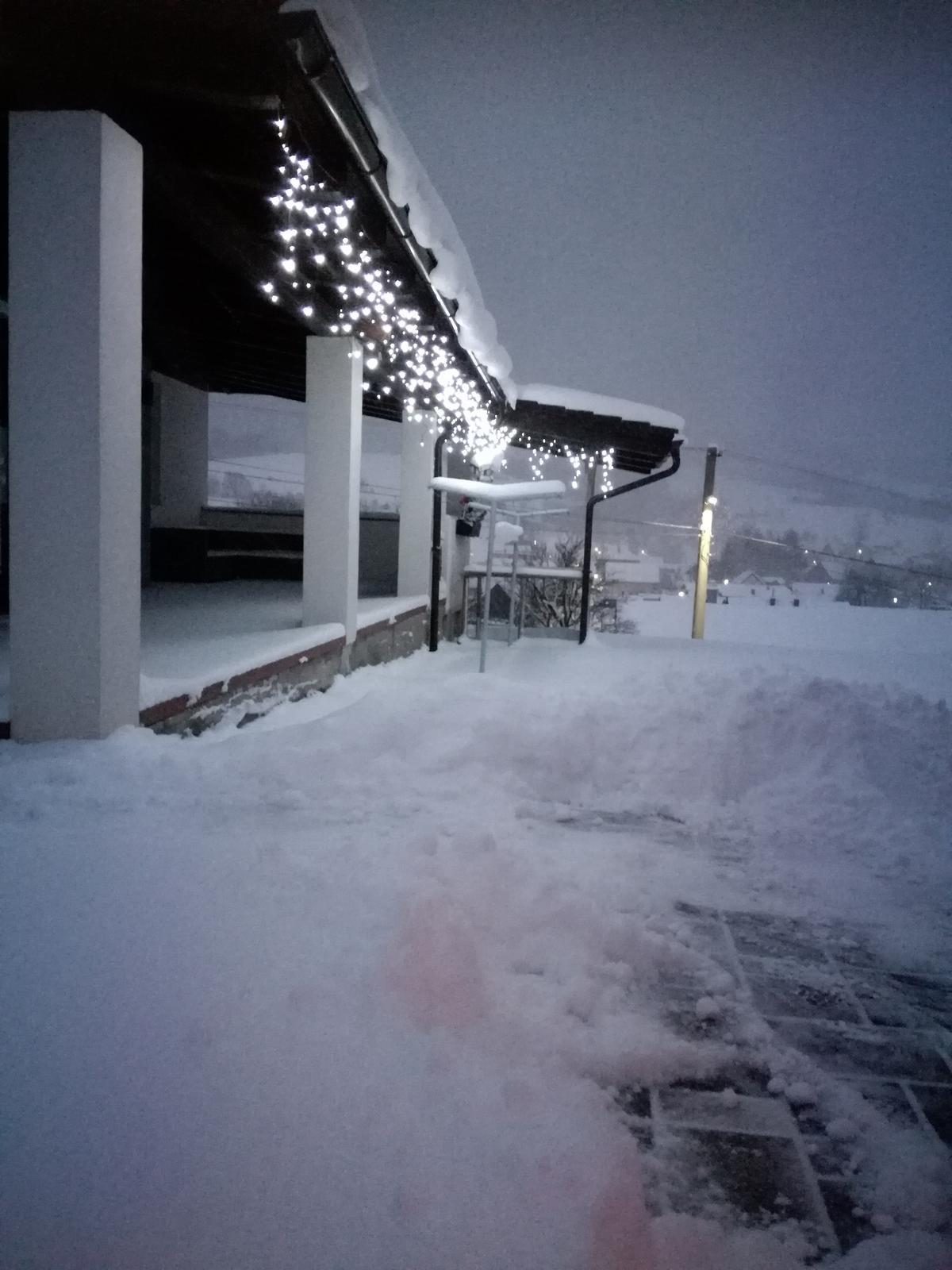 Domček na kopčeku - Sneží, sneží.....