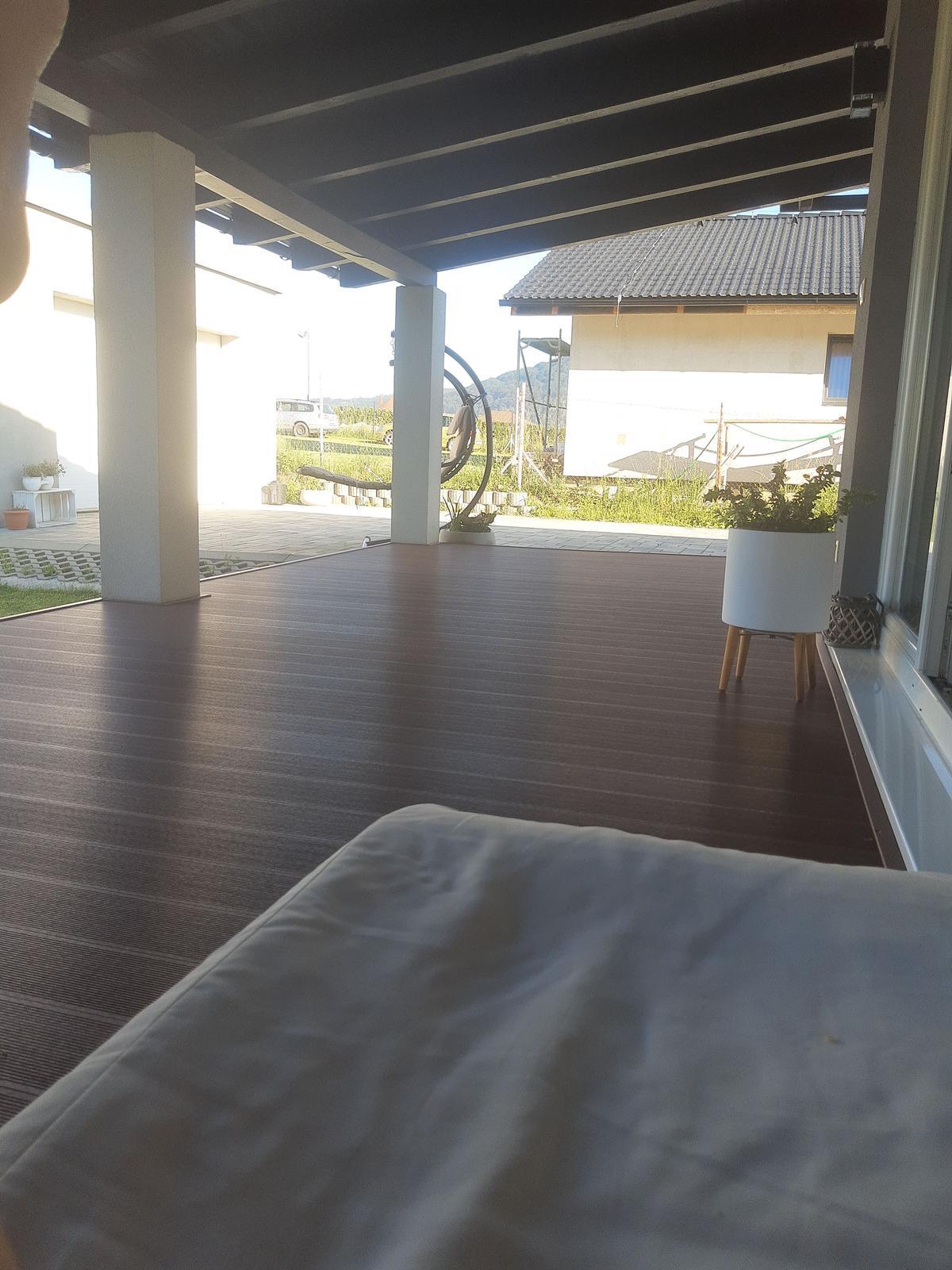 Domček na kopčeku - Tie letné rána sú nenahraditeľné 5,45 a slniečko krásne svieti
