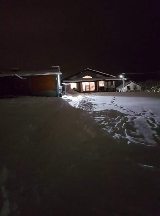 Domček na kopčeku - Konečne aj u nás nasnežilo