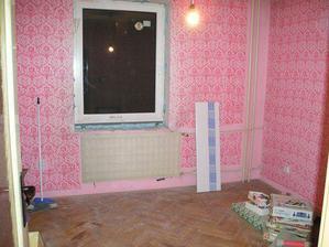 detská izba od dverí