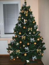 prvý vianočný stromček v byte