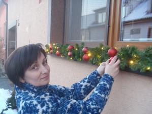"""to jsem já a moje ,,vánoční okno"""""""
