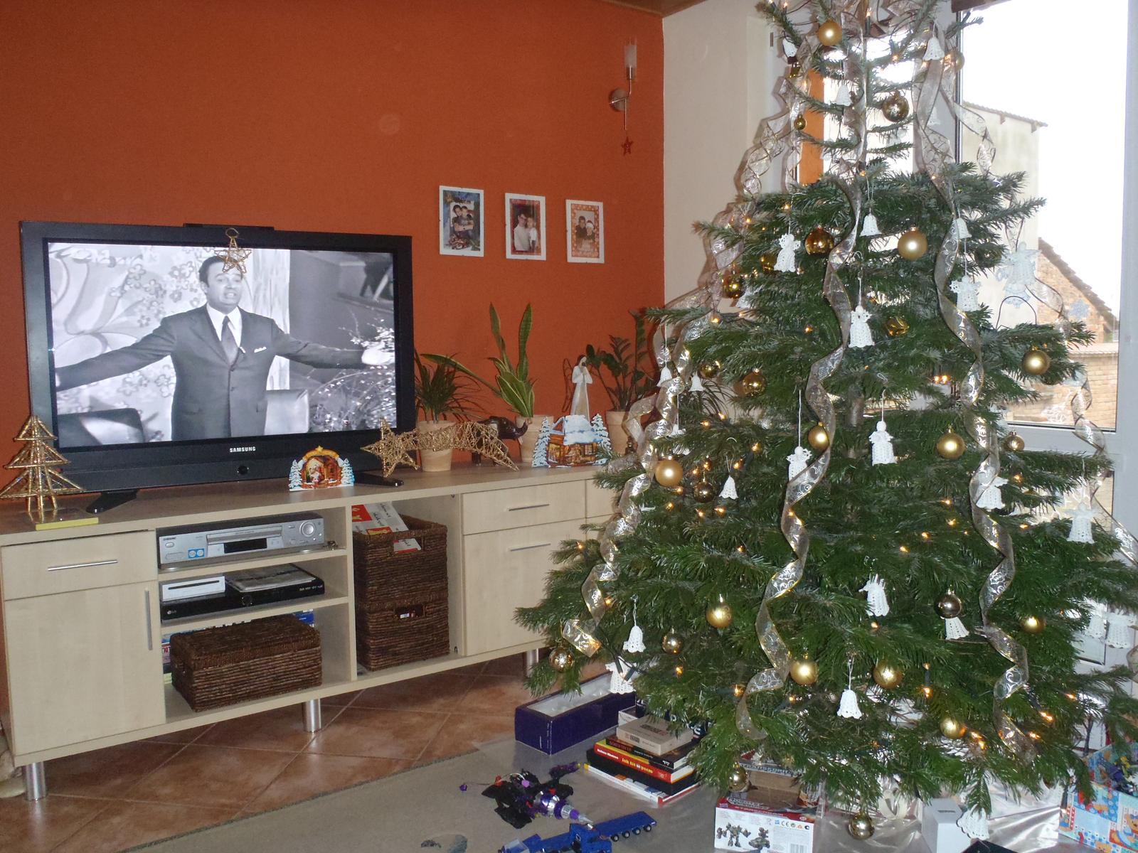 Vánoce 2012 - náš stromeček od Ježíška
