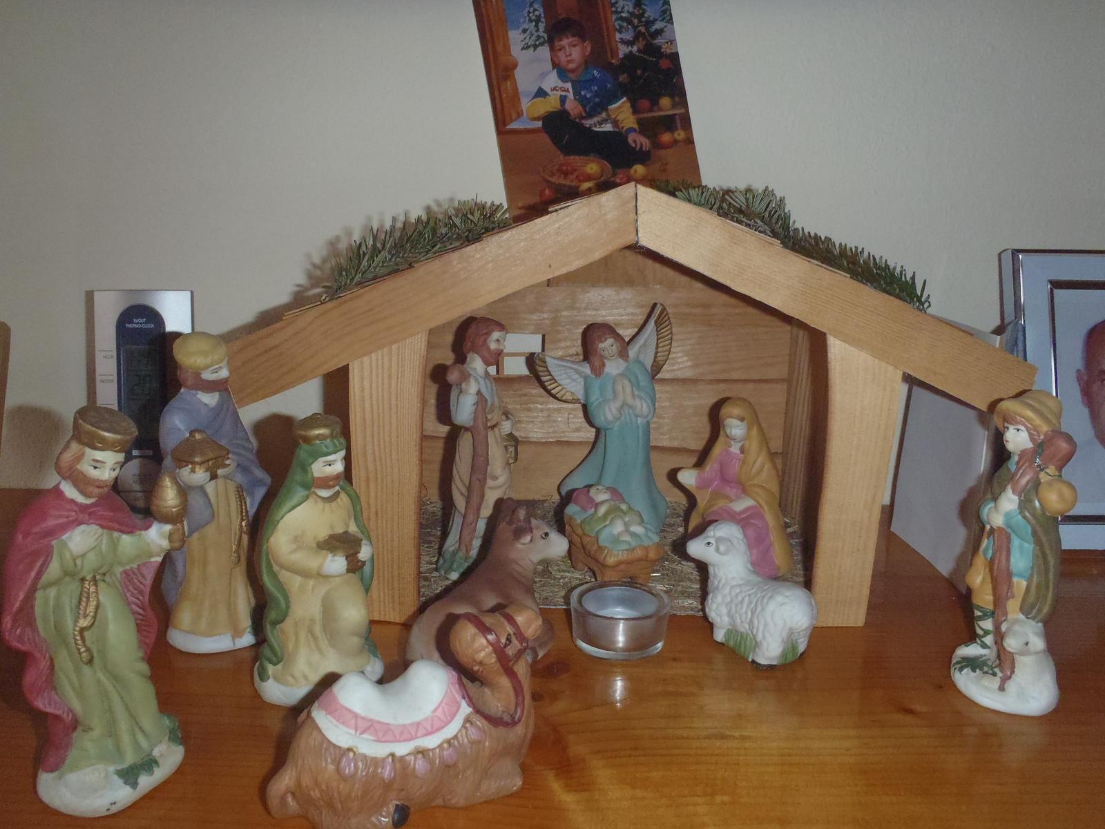 Vánoce 2012 - betlém