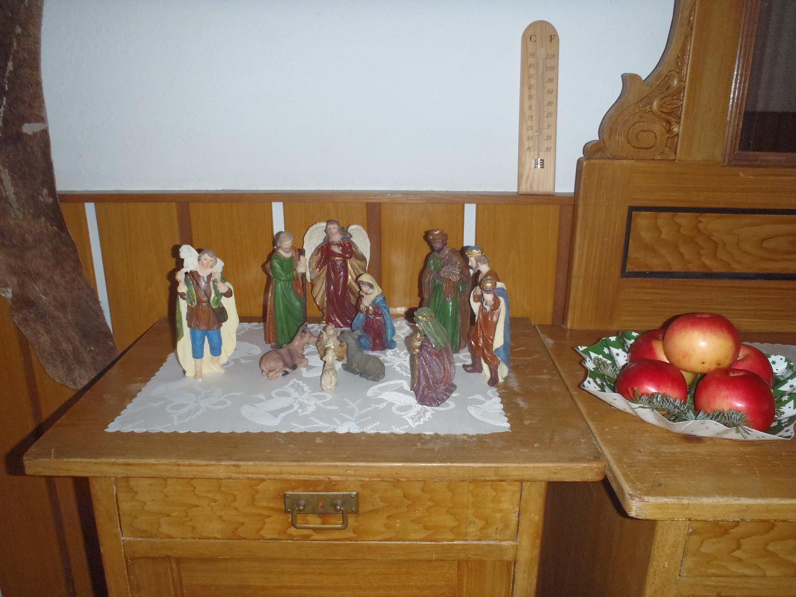 Vánoce 2012 - jiný betlém