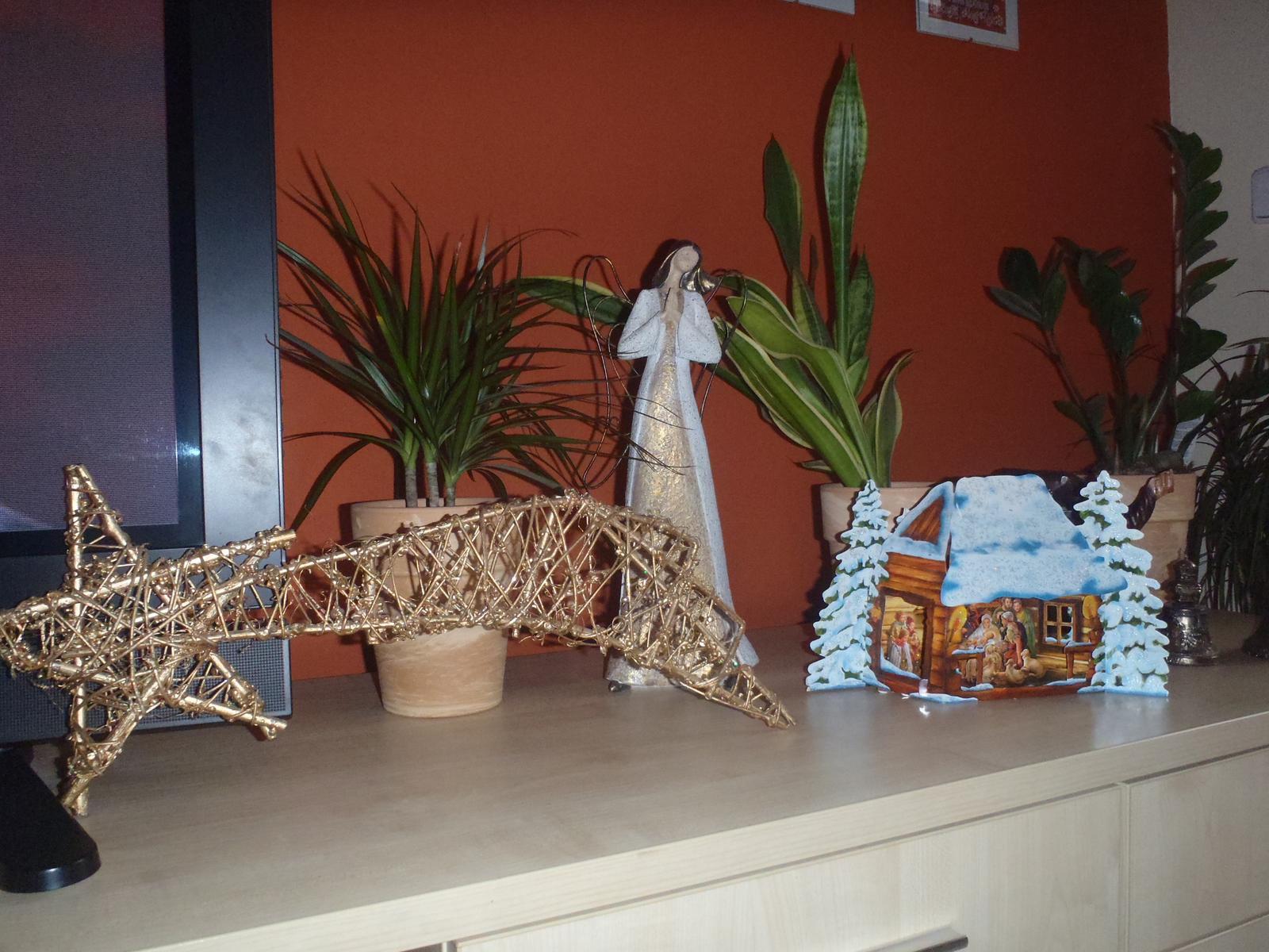 Vánoce 2012 - papírový betlém