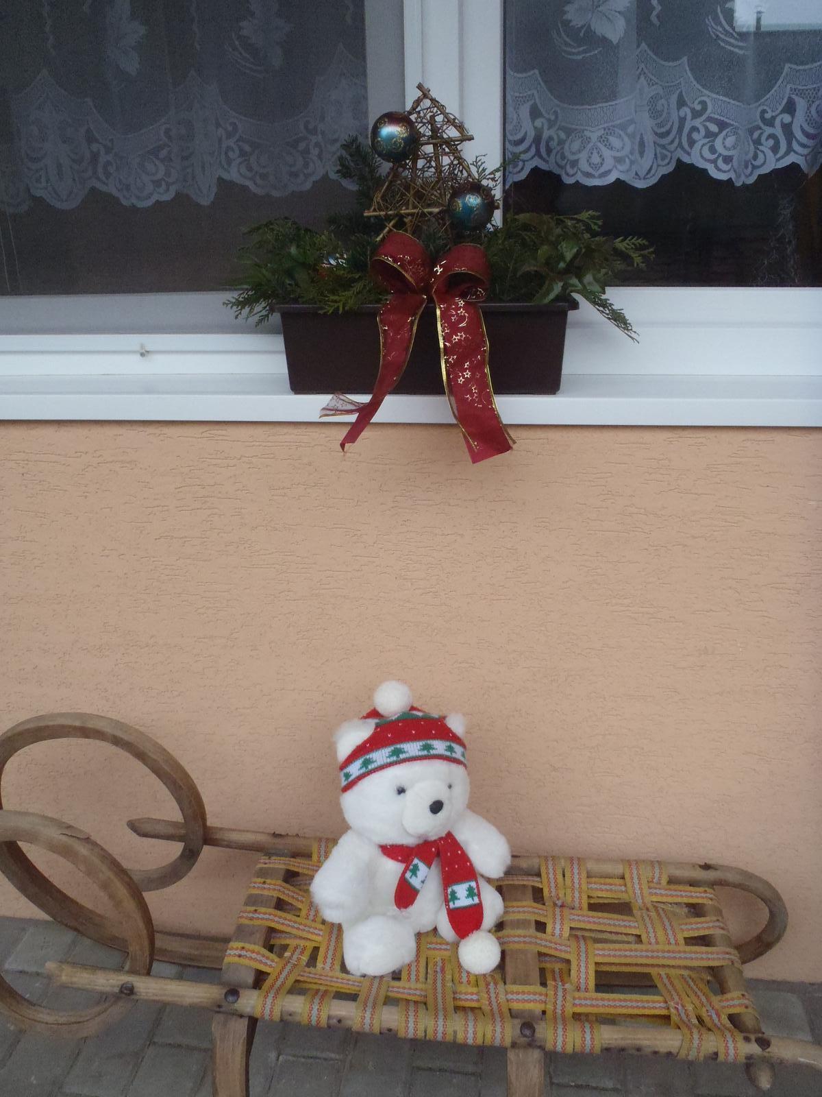 Vánoce 2012 - vánoční truhlík