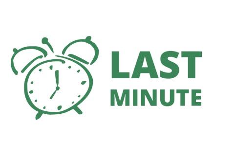 Last minute 21.4, 5.5, 12.5, 26.5 - LAST MINUTE. Pri objednaní kompletnej svadobnej výzdoby na termíny 21.4, 5.5, 12.5 a 26.5 Vám ponúkame 50% zľavu na luxusný balík a 20% zľavu na štandardný balík. Viac info emailom galaxyagentura@gmail.com