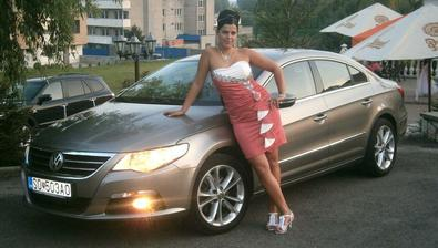 Naše autíčko nielen svadobne
