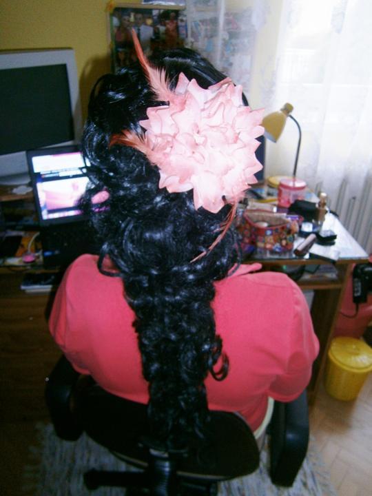 Účesy od mojej šikovnej kaderníčky - svadba november 2012