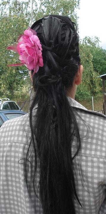 Účesy od mojej šikovnej kaderníčky - svadba jún 2012