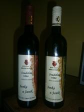 Naše svadobné vínečko ...najlepšie na východe a možno aj na SVK