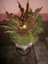 jesenna dekoracia pred domom