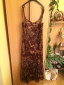 spoločenske šaty čipkovane, 48