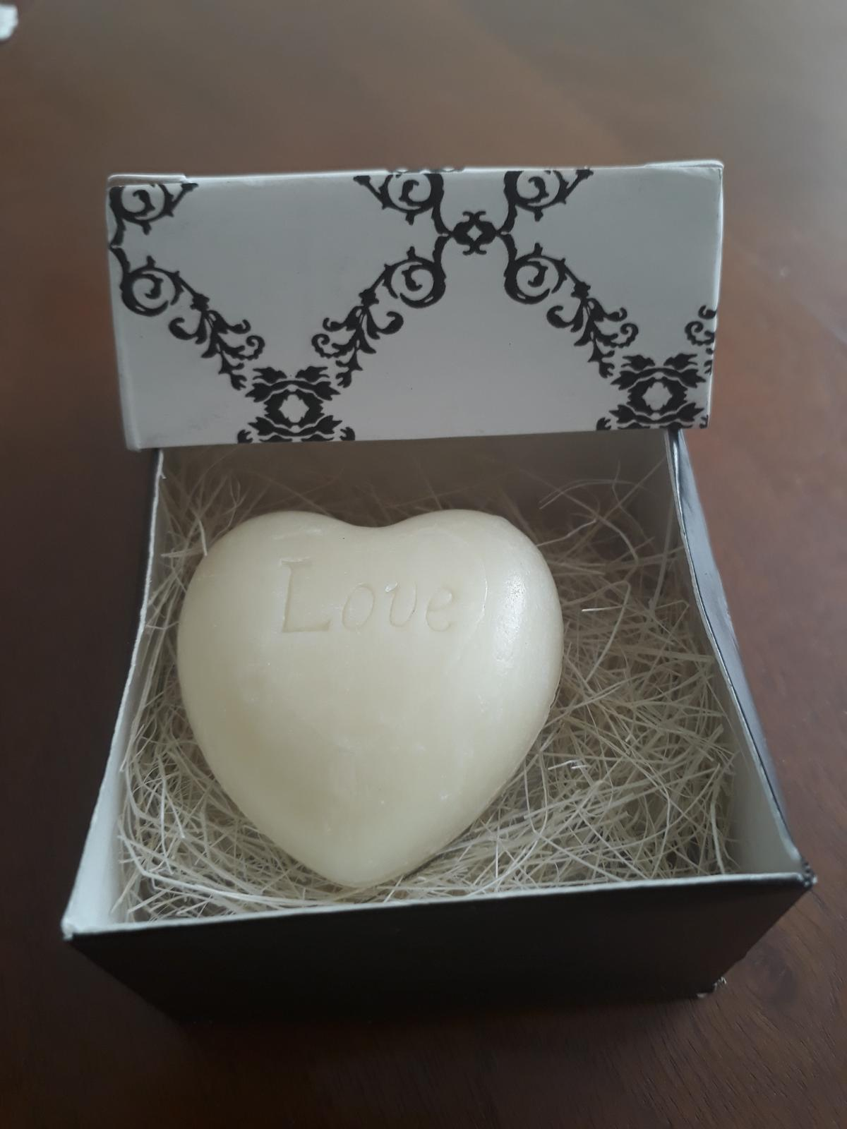 Mydielko v tvare srdca v krabičke - Obrázok č. 2